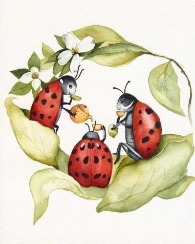 ladybug teapart
